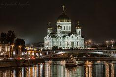 Photo Cathedral Christ Savior night by Lyudmila Izmaylova on 500px