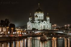 Photo Cathedral Christ Savior night by Lyudmila Izmaylova on 500px