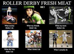 Roller derby fresh meat!