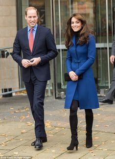 The Duchess of Cambridge will ensure her wardrobe gives a nod to the culture and local style with her wardrobe choices, pictured with Prince William during their visit to Dundee, Scotland, last year