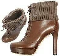 Nice boots.