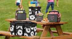 Everyday Celebrations - Love the ThirtyOne totes for easy organization when traveling. www.DebBixler.com