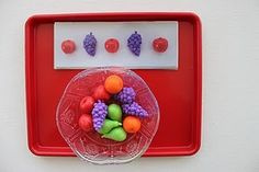 Lots of Tot Trays Ideas from stay at home speech therapist