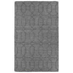 Found it at Joss & Main - Glastonbury Gray & Silver Geometric Wool Hand-Tufted Area Rug