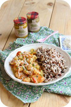 Curry de crevettes au lait de coco (1)