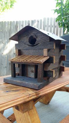 Grey Barn wood cabin