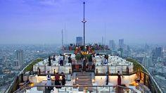 Banyan Tree hotel, Vertigo, Bangkok, Thailand