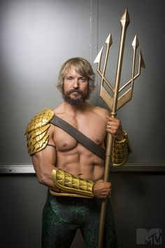 Ben Dickinson as Aquaman                                                                                                                                                                                 More