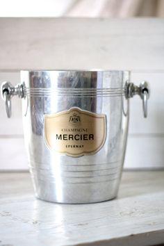 French vintage large Champagne bucket. ART par Passesimple sur Etsy