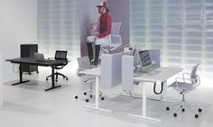 Vitra at the international Orgatec office furniture fair in Cologne last October. Love Design, Office Furniture, Dining Table, Interior Design, Cologne, October, Live, Home Decor, Nest Design