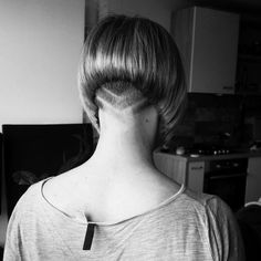 just short haircuts, nothing else. If you're thinking of getting an undercut, sidecut, pixie, or any. Short Wedge Hairstyles, Bob Hairstyles, Blonde Bobs, Blonde Hair, Short Hair Cuts, Short Hair Styles, Nape Undercut, Buzzed Hair, Shaved Nape