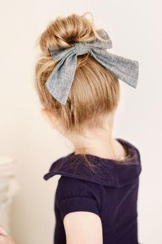 Topknot & bow