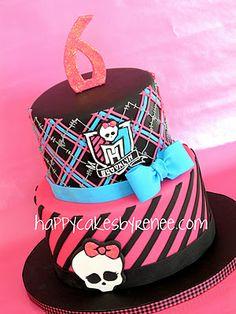 Happy Cakes Bakes: Monster High Themed Cake