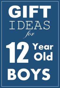 Awesome birthday and Christmas Gift Ideas for 12 year old boys.
