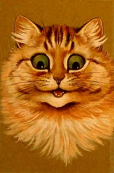 Happy To See You, United Kingdom, date unknown, by Louis Wain.