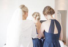 Bridesmaid Hair, Bridesmaids, Bridal Hair, Backless, Makeup, Dresses, Fashion, Make Up, Gowns