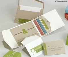Modern Pocketfold Wedding Invitation Suite  Marina by LamaWorks, $6.20