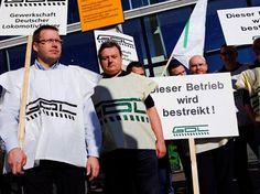 Direnişteyiz! » Almanya'da Pilotlardan Sonra Şimdi de Makinistler Grevde