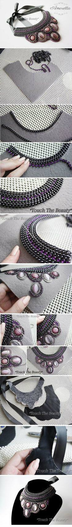 I'm normally not a fan of such big jewellery, but I love the concept of this!