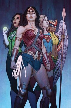 DC's Greatest 'Wonder Women'You can find Dc comics and more on our website.DC's Greatest 'Wonder Women' Marvel Dc Comics, Heroes Dc Comics, Dc Comics Funny, Dc Comics Girls, Dc Comics Characters, Dc Comics Art, Dc Comics Women, Female Dc Characters, Justice League Comics