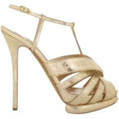 Pre-owned Nicholas Kirkwood Gold Pumps ($322) ❤ liked on Polyvore featuring shoes, pumps, gold, platform shoes, gold platform shoes, gold peep toe pumps, high heel shoes and gold shoes