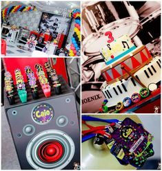 Music Themed Party Full of Awesome Ideas