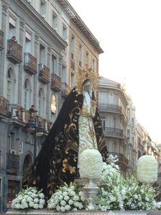 Virgen de los Dolores en Sol