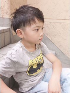 See related links to what you are looking for. Kids Short Haircuts, Short Hair Cuts, Short Hair Styles, Japanese Haircut, Bowl Haircuts, Kids Cuts, Hair Arrange, Toddler Boy Fashion, Asian Babies