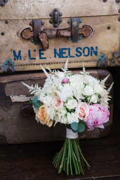 Rustic bouquet: http://www.stylemepretty.com/destination-weddings/2014/12/15/whimsical-aynhoe-park-wedding/   Photography: Lucy Davenport - http://www.lucydavenport.co.uk/