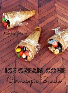 ice cream cone cornu