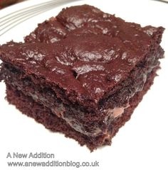 A New Addition to... Sexy gooey chocolate brownie | A New Addition to...