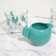 i love turquoise vintage so