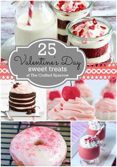 25 - Valentine's Day Sweet Treats