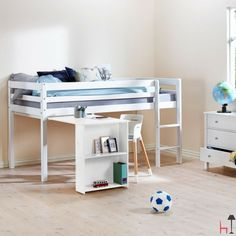 Hit Basic bed with slats by Flexa on LOVEThESIGN Beds
