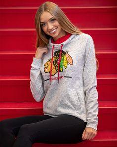 Ladies Colosseum Lily Pullover ($45) Blackhawks Store, Chicago Blackhawks, Lily, Graphic Sweatshirt, Brand New, Pullover, Sweatshirts, Sweaters, Fashion
