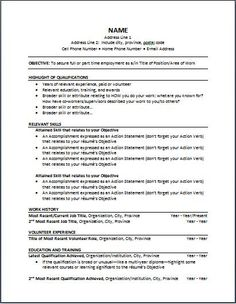 What Is Good Sample Of Functional Resume | Functional Resume Template
