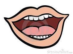 Ik heb deze afbeelding gekozen, omdat het een duidelijke vorm van een mond heeft. Het is ook duidelijk te zien dat de persoon van wie de mond is, aan het praten is. Dit wil ik ook in mijn werk.