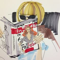 I got my September issue, & Anna Wintour is happy. Can't you tell? By @DonaldDrawbertson