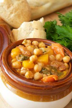 Cuban chickpea stew
