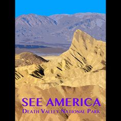 Death Valley National Park by Zack Frank  #SeeAmerica