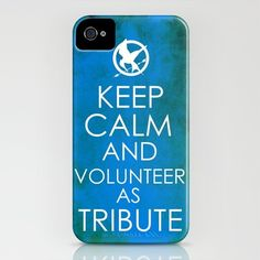 keep calm and volunteer as tribute