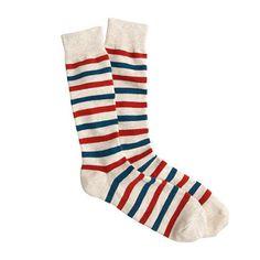Parisian Stripe Socks