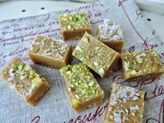 Salted Vanilla Fudge -  all the things that make me….. me