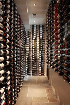 Modern Wine Cellar Hawaii CellarMaker - Pool House Wine Cellar - modern - wine cellar - atlanta - by CellarMaker