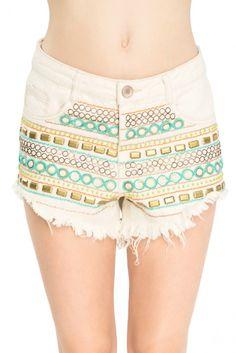 short bordado frente - Shorts e Bermudas | Dress to