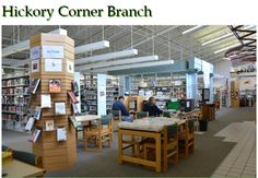 Take a look inside of our Hickory Corner Branch