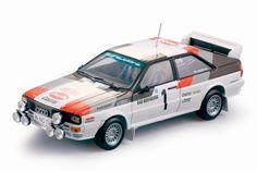 Sun Star 1:18 1982 Audi Quattro #1- Mikkola/Hertz- 1982 Rally Monte Carlo diecast car