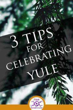 Yule Ritual: 3 tips for celebrating Yule, the Sabbat of Rebirth! Ritual De Samhain, Yule Wicca, Wiccan Sabbats, Pagan Witchcraft, Beltane, Yule Crafts, Wiccan Crafts, Winter Solstice Rituals, Pagan Christmas