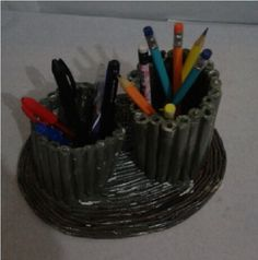 Porta lapis e canetas