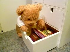 Hm... Where did I put it? | Our lovely teddy bear